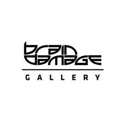 Brain Damage Gallery logo