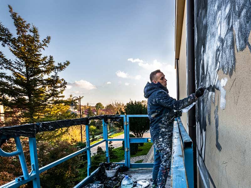 Murale powstałe w ramach projektu Lubelski Szlak Bitwy Warszawskiej