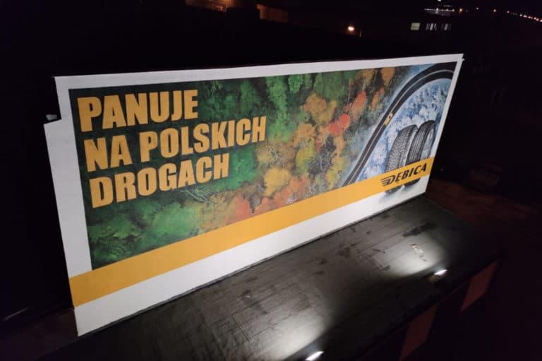 Mural reklamowy Dębica