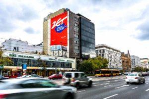 Kampania reklamowa mural Radio Zet